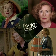 Moira O Hara, Frances Conroy, American Horror Story Coven, Angel Of Death, Horror Stories, Movie Tv, Pepper, Tv Shows, Drama