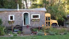 School Bus Conversion To Gorgeous Tiny House | Minimalist Lifestyle | Bloglovin'