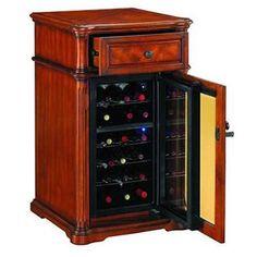 Bisini Mini Wooden Electric Wine Refrigerator Bf09 42033