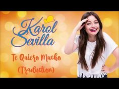 Karol Sevilla - Te quiero mucho (Traduction) - YouTube Youtube, T Shirts For Women, Blog, Tv, Te Quiero, Musica, Blogging, Tvs, Youtube Movies