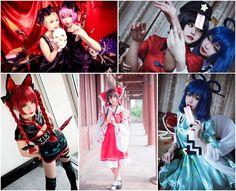 #cosplayer:这很迟迟;  #Photographer:风音Frariski 猫奶 羽柴 雷达;  #Make-up:这很迟迟 ; #Assistance:#这很迟迟 #Chinese #cosplay #touhouproject 2