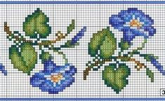 This Pin was discovered by muk Tiny Cross Stitch, Cross Stitch Heart, Cross Stitch Borders, Cross Stitch Flowers, Cross Stitch Designs, Cross Stitching, Cross Stitch Embroidery, Hand Embroidery, Embroidery Designs