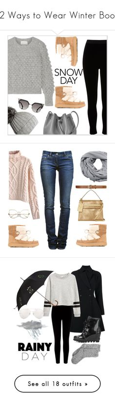 """""""12 Ways to Wear Winter Boots"""" by polyvore-editorial ❤ liked on Polyvore featuring winterboots, Eleven Six, River Island, Black, Moncler, Lancaster, Fendi, Chicwish, Étoile Isabel Marant and MANGO"""