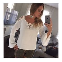 Earrings set off this stunning Boho Chic White Patchwork Cut Out Round Neck Fashion Blouse Plus Size Shirts, Blouse Vintage, Blouse Styles, Refashion, Dress To Impress, Ideias Fashion, Casual Outfits, Fashion Dresses, How To Wear