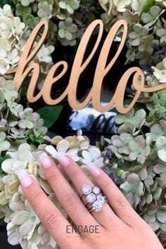 Customize your own in the Engage app or at engagejeweler.com #engagementring #diamond #diamondring #weddingseason #engagementplanning #engagementinspo #proposalinspo #weddinginspo #weddingplanning #spring #summer #weddingmanicure #stackedrings #ringdesign #emeraldcut #haloengagementring #cushioncut #solitaireengagementring #radiantcut #rounddiamond #rosegold #whitegold #yellowgold #platinum #womensjewelry #weddingjewelry #bridaljewelry #womensrings #jewelryandaccessories #marriageproposal Wedding Manicure, Marriage Proposals, Wedding Season, Ring Designs, Round Diamonds, Diamond Engagement Rings, Wedding Jewelry, Wedding Planning, Women Jewelry