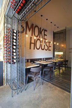 The Brisket - Smoke House, Milan, 2015 - B.M. ITALIA - Spazio allo stile dal 1976