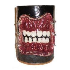 Chatterer Pot  Handbuilt Ceramic Pot Inspired by Hellraiser by Aaron Nosheny / Aberrant Ceramics  $45.00
