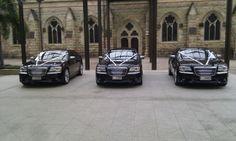 Chrsyler 300C New Model x3 at St Stephen's Cathedral Brisbane City