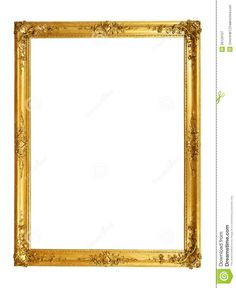 36 Awesome gold frames for photoshop images | Frames ...