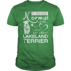 my first Lakeland Terrier  T-Shirts T-Shirts, Hoodies ==►► Click Shopping NOW!