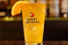 Angry Screwdriver: 1.5 oz orange liqueur 1oz orange juice Fill with Angry Orchard Crisp Apple #AngryOrchard #Cocktail #Cider #AO #CrispApple