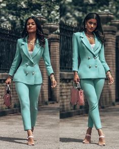 Check out Simone Love Suit Fashion, Work Fashion, Fashion Outfits, Gothic Fashion, Classy Outfits, Stylish Outfits, Mode Costume, Pantsuits For Women, Professional Outfits