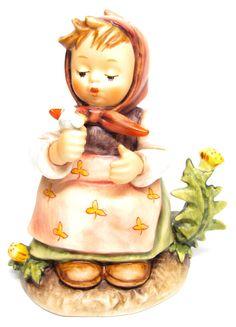 """No Reserve MI Hummel Goebel Figurine """" Make A Wish """" Hum 475 TMK 6 (1979-1991)"""