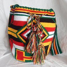 Colombiano Wayuu Mochila borsa a tracolla/a di LuxuryHMAccessories