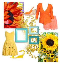 """""""Garden Party"""" by kim-mcculley ❤ liked on Polyvore"""
