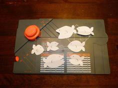 jennyskreativewelt: Fische mit dem Gift Box Punch Board