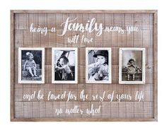 Family Collage Wall Frame 18357