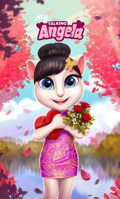AsMa Mujeer My Talking Tom, Cartoon Art, Disney Characters, Fictional Characters, Geek Stuff, Lily, Cool Stuff, Disney Princess, Totally Spies