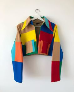 """Carlton Yaito on Instagram: """"*Swipe for details* A full look at the Yaito Rubix Felt Jacket with two functional pockets. Constructed from individual 10 inch sheets of…"""""""