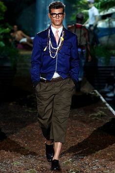 Chicos algo azul en el closet super sexy #Dsquared2 Menswear - Pasarela