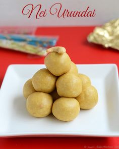Nei urundai (payathamavu laddu) is so simple and easy to make with the ingredients that are in your pantry. Perfect to try for Diwali.