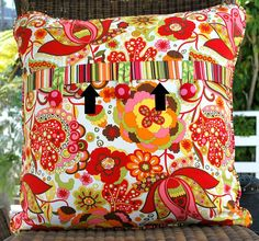 best zippered pillow to sew.....ever adaptable to many other styles & Lost \u0026 Found 2 Pillow Tutorial | Things to Sew | Pinterest ... pillowsntoast.com