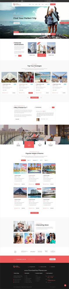 Listing Paradise is clean and modern design #PSD template for mulitpurpose #directory #listing website with 6 homepage layouts and 29 layered PSD pages to live preview & download click on Visit