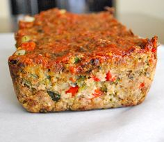 Meatless Meatloaf is mushroomylicious.
