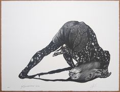 Toyin Ojih Odutola, Sidney Amaral | Minotaure (2012) | Artsy Artsy, Darth Vader, Tamarind, Gallery, Collaboration, Illustration, Artwork, Fictional Characters, Work Of Art