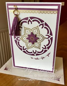 Stampin Up Demonstrator UK Pegcraftalot Peg Coombes: Another Sneak Peek Eastern Palace from Stampin' Up!