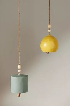 Im Thinking About You, Zen Room, Spring Home, Kid Spaces, Furniture Decor, Decorative Accessories, Wind Chimes, Stoneware, Anthropologie