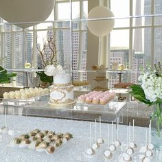 Dessert Tablescape by August In Bloom, Toronto