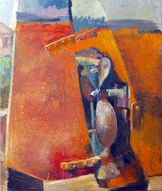 "Saatchi Art Artist GEORGE KARAFOTIAS; Painting, ""SHIP PROPELLER ABSTRACT"" #art"