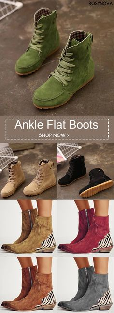 Shop now >> Up to OFF – [NEW IN] Over 100 stylish ankle boots for fall Ouyfit - Winter Boots Ankle Boots, Flat Boots, Shoe Boots, Shoes Sneakers, Boot Shop, Winter Shoes, New Shoes, Fashion Shoes, Shoes