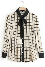 Checkered clothing trends