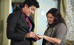 Yusef Khan and Zainab played by Ace Bhatti and  Nina Wadia.