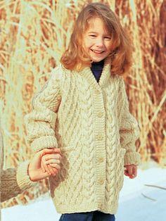 Shawl-Collar Jacket | Yarn | Free Knitting Patterns | Crochet Patterns | Yarnspirations