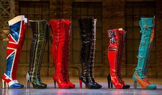 """I saw the broadway musical """"Kinky Boots"""" in New York City and fell in love with the stiletto boots for drag queens. As someone who loves comfort, though, I recreated my own version of the """"Kinky Boot"""" into a """"Kinky Sneak. Musical London, London Theatre, Broadway Theatre, Musical Theatre, Broadway Shows, Arts Theatre, Broadway Nyc, Musicals Broadway, Theatre Quotes"""