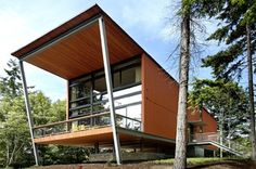 Fort Ward Bunker House - modern - exterior - seattle - by Eggleston Farkas Architects