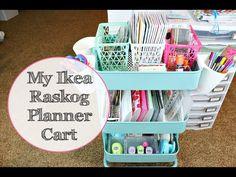 Raskog (Ikea) Carts FAQ and Tour - YouTube