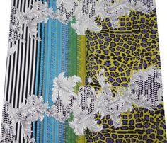 Indian Fabric Floral, Leaf abstract pattern luv! #mixandmatch #animalprints #stripes #blackandwhite #indianfabric #floral #boldpatterns #designinspiration #reflektiondesign