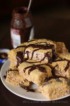 Homemade S'mores Marshmallows- willowbirdbaking.com