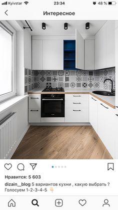 ideas wood home accessories white cabinets Kitchen Room Design, Home Decor Kitchen, Interior Design Kitchen, Kitchen Furniture, Home Kitchens, Urban Kitchen, Kitchen Sets, Küchen In U Form, Small Apartment Kitchen