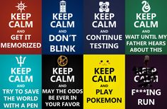 Keep Calm: only the nerds know