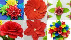 53 Best Paper Flower Diy Flower Origami Flower Images In 2020