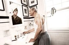 An amazing photo series of elderly as they once were by TOM HUSSEY (Lifestyle Advertising Photography New York / Dallas) (Viviana Russell's 2014 NAMC Staff Pick)