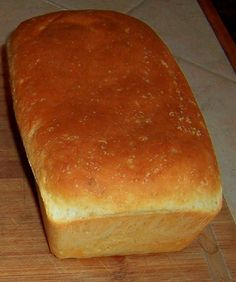 Homemade Bread - using my KitchenAid. . . *This was my very first time making bread.  It was good, just better as a dinner roll, served hot with butter.  I will make again, just not as a loaf