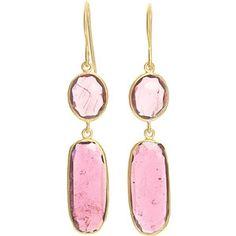 pink tourmaline earrings - Google Search