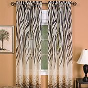 Kenya Safari Inspired Curtain Panel