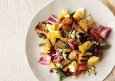 Grilled Vegetable Panzanella | Vegetarian Times